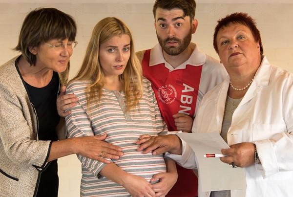 Hauptsache gesund mit:  (v.l.) Marika Kotulla, Sophia Müller-Bienek, Marc Neumeister und Karin Schwarz.